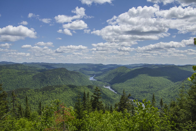 Point de vue sur la rivière Sautauriski