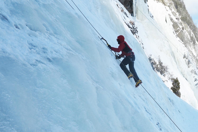 Escalade de glace - Chute Montmorency